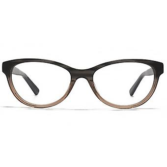 Carvela Small Cateye Glasses In Grey