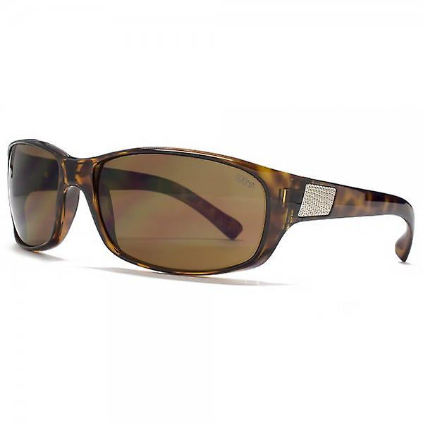 SUUNA Knox Soft Wrap Sunglasses In Tortoiseshell