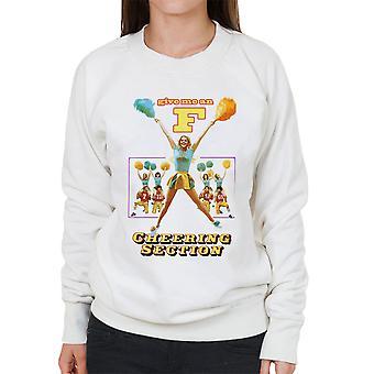 Ge mig ett F jublande avsnitt kvinnors tröja