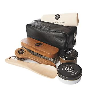 h by hudson shoes luxury shoe care travel kit