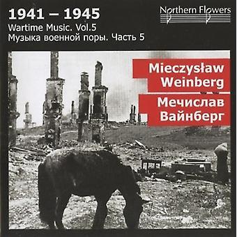 St.Petersburg State Academic Symfoniorkester - krigstid musik 5 - M. Weinberg: Symfoni [CD] USA importerer