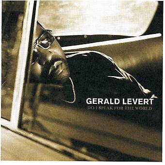 Gerald Levert - Do I Speak for the World? [CD] USA import