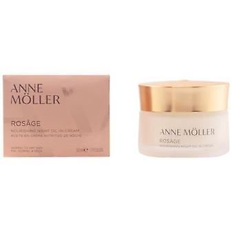 Anne Möller Rosage Night Oil-In-Cream 50 ml (Kosmetik , Gesicht , Gesichtspflegecremes)