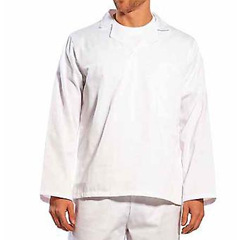 Portwest - Food Industry Bakers-Caterers Long Sleeved Shirt V-Neck With Collar