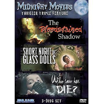 Midnat film - midnat film: Vol. 4-Thriller tredobbelt funktion [DVD] USA importerer