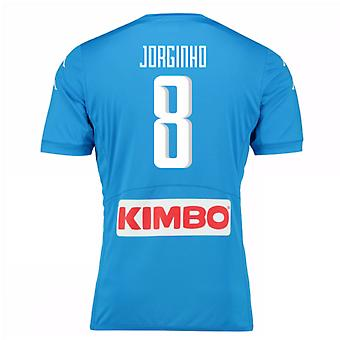 2016-17 Napoli authentiek thuis Shirt (Jorginho 8)