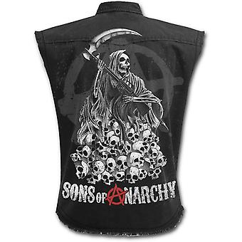 Spiral - SOA REAPER SKULLS - Sons of Anarchy Stone Washed Worker