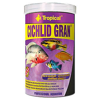 Tropical Grainy Cichlid Color 100 Ml (Fish , Food , Warm Water)