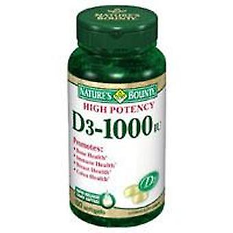Tongil Vitamin D3 1000 IU, Nature's Bounty 100Perlas (Diet)