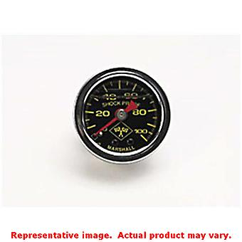 Russell 650320 Russell Fuel Pressure Gauge Black Face/Chrome Case Range: 0-100p