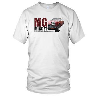 MG dverg Vintage konvertible klassiske bilen damer T skjorte