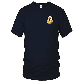 US Army - 204th Infanteriregiment brodert Patch - Mens T-skjorte