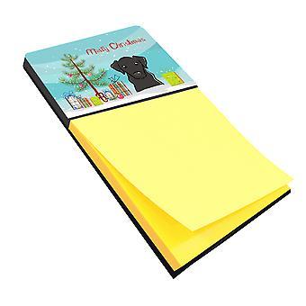 Christmas Tree and Black Labrador Sticky Note Holder