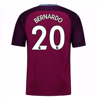 2017-18 Man City Away Shirt (Bernardo 20)