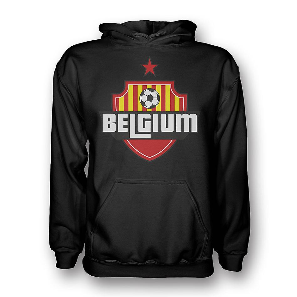 Belgium Country Logo Hoody (black) - Kids