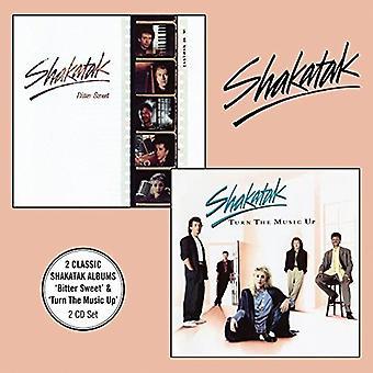 Shakatak - Bitter Sweet + Turn musik op [CD] USA importerer