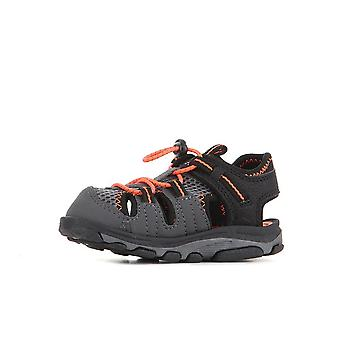 New Balance Kids Adirondack Sandal Blackorange K2029BON universal all year infants shoes