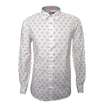 Ted Baker Ted Baker Men's Laaze White Long Sleeved Shirt