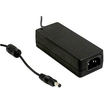 Bench PSU (fixed voltage) Mean Well GSM60A12-P1J 12 Vdc 5 A 60 W