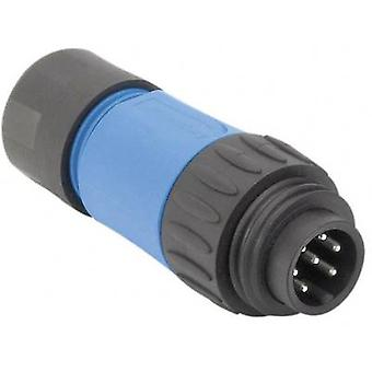 Amphenol C016 10H006 010 10 Straight Cable Plug C16-1 Nominal current (details): 10 A Number of pins: 6+PE