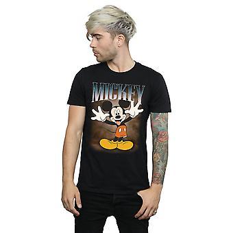 Disney Men's Mickey Mouse Tongue Montage T-Shirt