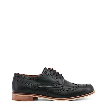 Made in Italia Women Lace up Black