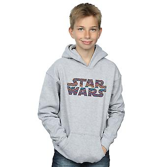 Star Wars Boys Colour Aztec Logo Hoodie