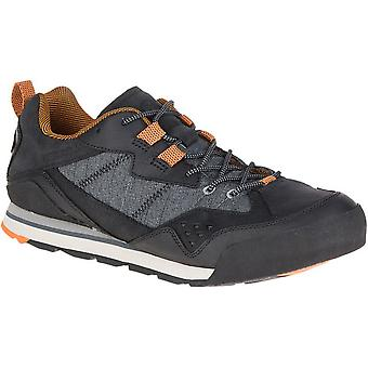 Merrell Mens Burnt Rock Leather Mesh Urban & Light Walking Sneakers