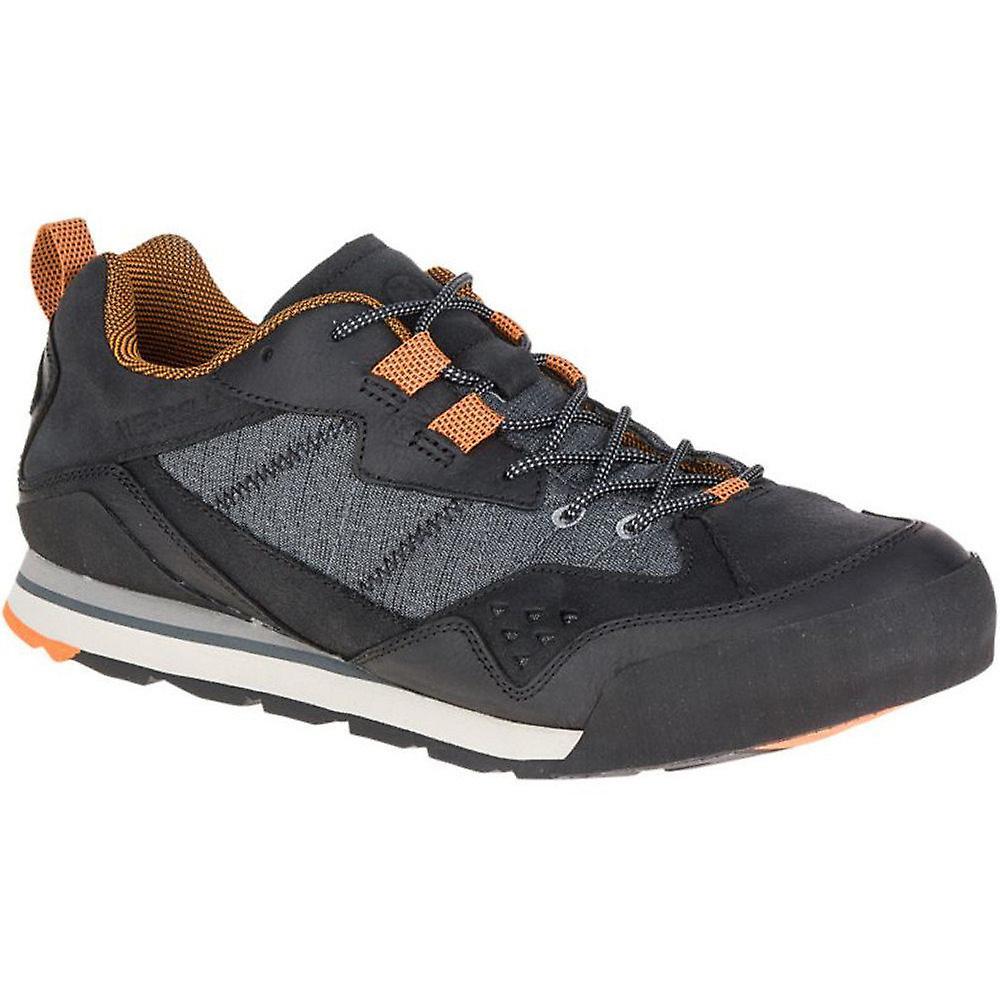 Merrell Mens Burnt Rock Leather Mesh Urban & Light Walking Sneakers