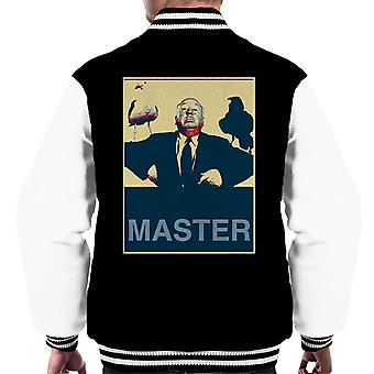 Alfred Hitchcock The Birds Promotional Photo Poster Style Men's Varsity Jacket