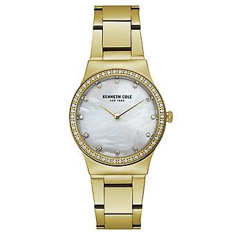Kenneth Cole New York Damen-Armbanduhr Analog Quarz Edelstahl KC50061001