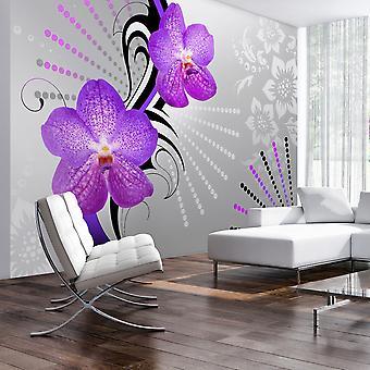 Tapeter - lila vibrationer