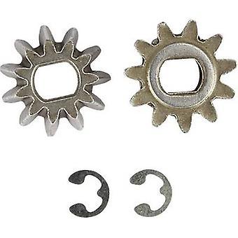 Reely 536026 pezzo di ricambio differenziale centrale con ruote ingranaggi conici