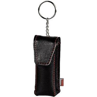 USB flash drive pouch Hama 90775 USB stick Black