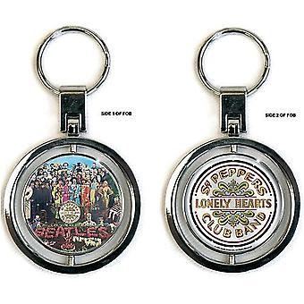 Beatles Sargento pimienta giro Metal / esmalte llavero