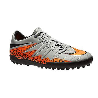 NIKE Hypervenom Phelon III TF men's soccer shoes grey
