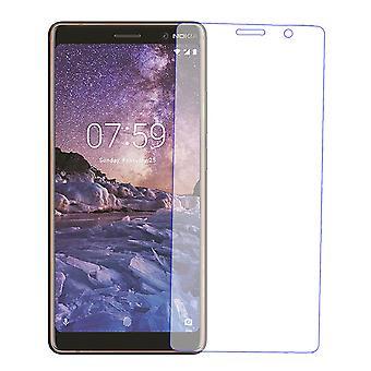 Nokia 7 et une protection d'écran protector 9 H stratifié verre réservoir en verre en verre trempé