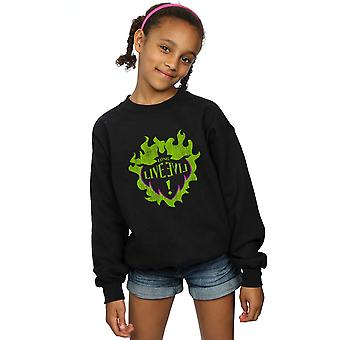 Disney Girls The Descendants Maleficent Long Live Sweatshirt