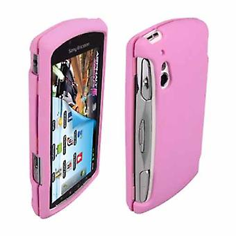 OEM Verizon Snap-On Gel Case for Sony Ericsson Xperia PLAY R800 (Pink) (Bulk Packaging)