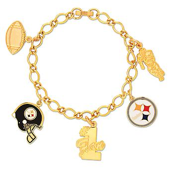 Wincraft Damen Charms Armband - NFL Pittsburgh Steelers
