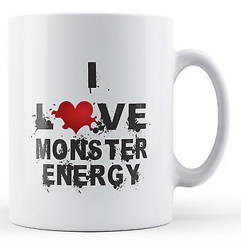 Я любовь энергии изверга напечатал кружка
