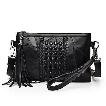 Shoulder handbag in genuine Sheepskin RANDIG5894