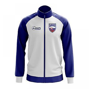 Slovakia Concept Football Track Jacket (White)