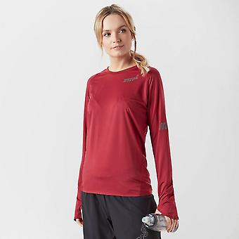 Nouvelle base Inov8 Ls Running Sports - Outdoor Women's Top Red