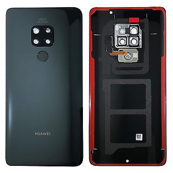 Huawei batería batería cubierta de la batería cubierta negra para 02352FJY mate 20 reparacion nuevo