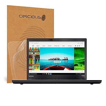 Celicious Matte Anti-Glare Screen Protector Film Compatible with Lenovo ThinkPad T470p (Touch) [Pack of 2]