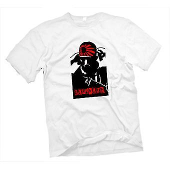 Mens T-shirt-Kamikaze-Pilot-Japanisch