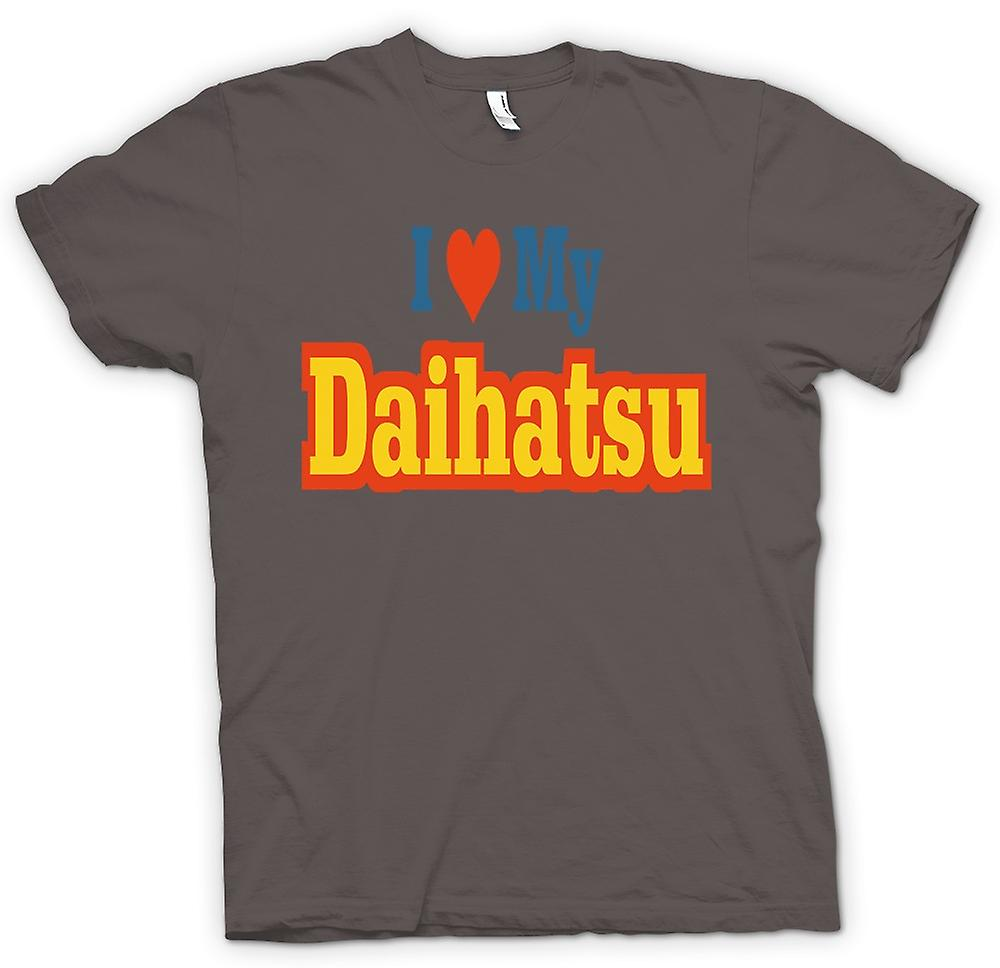 Womens T-shirt - I love my Daihatsu - Car Enthusiast