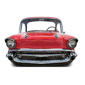Red Car (klein) Kind Größe Karton Ausschnitt / f