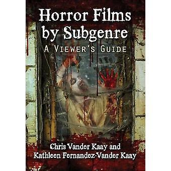 Filmes de terror por subgênero - guia de um visualizador por Kathleen Fernandez-Vand